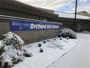 snowy day at ohes
