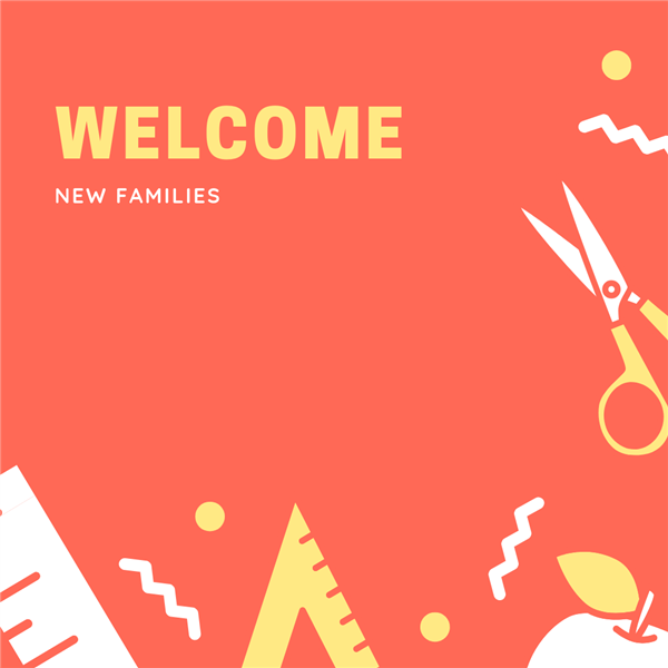 welcome new families