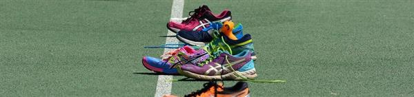photo of track shoes