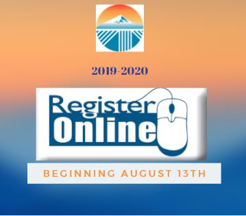 Online Registration Coming August 13th